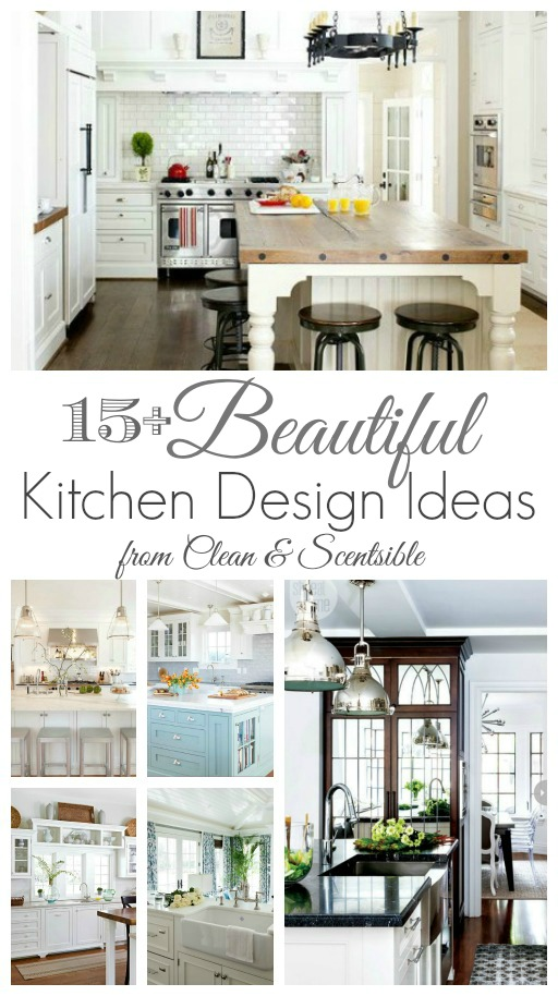 Kitchen Design Ideas Clean And Scentsible