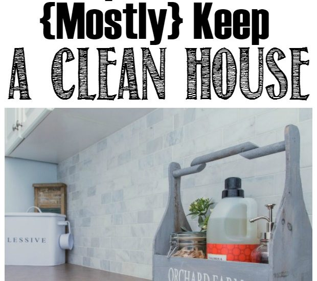 Habits To Keep A House Clean And Tidy