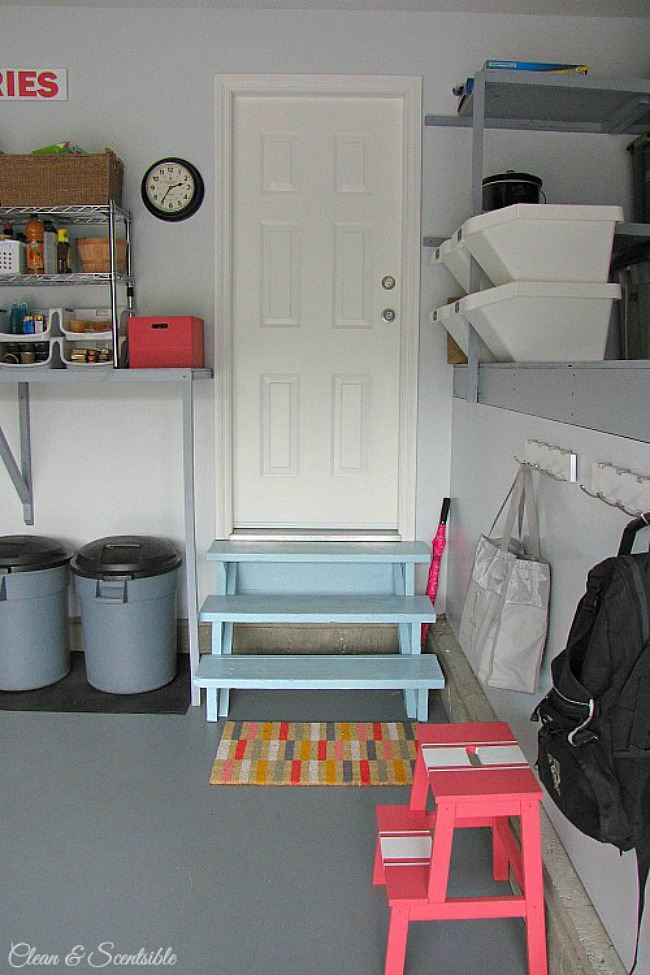 How to Organize the Garage {July HOD} - Clean and Scentsible on Organized Garage  id=29254