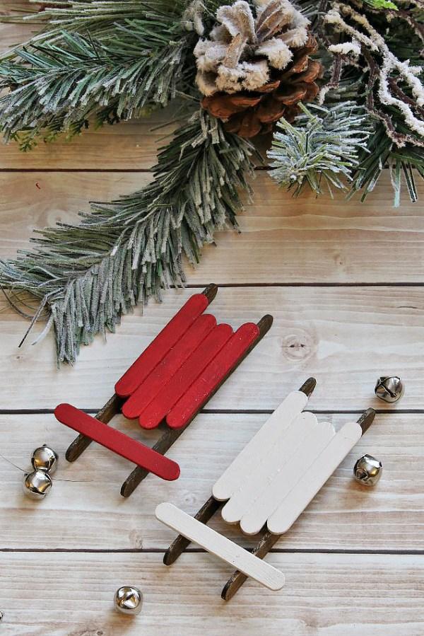 christmas ornaments popsicle sticks # 7