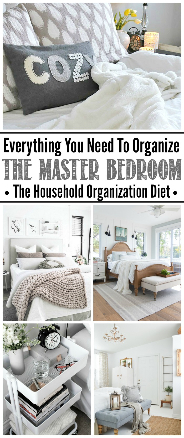 How to Organize the Master Bedroom September HOD