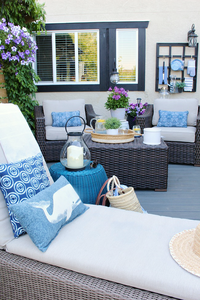 Outdoor Living - Summer Patio Decorating Ideas - Clean and ... on Backyard Patio Decorating Ideas id=82212