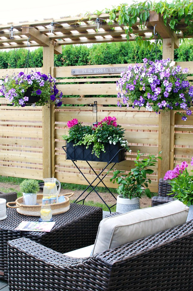 Outdoor Living - Summer Patio Decorating Ideas - Clean and ... on Backyard Decorating Ideas  id=43860