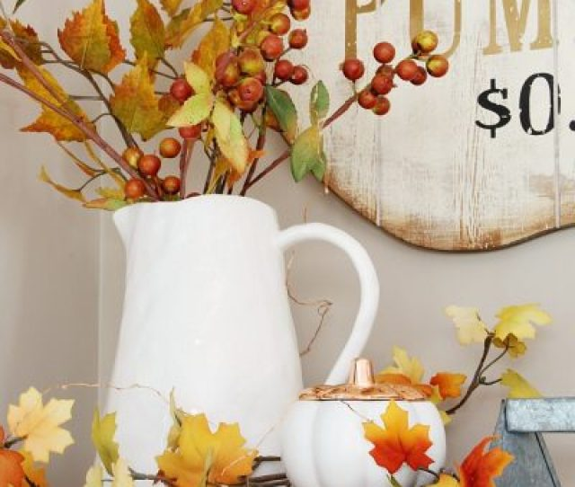 Thanksgiving And Fall Home Tour