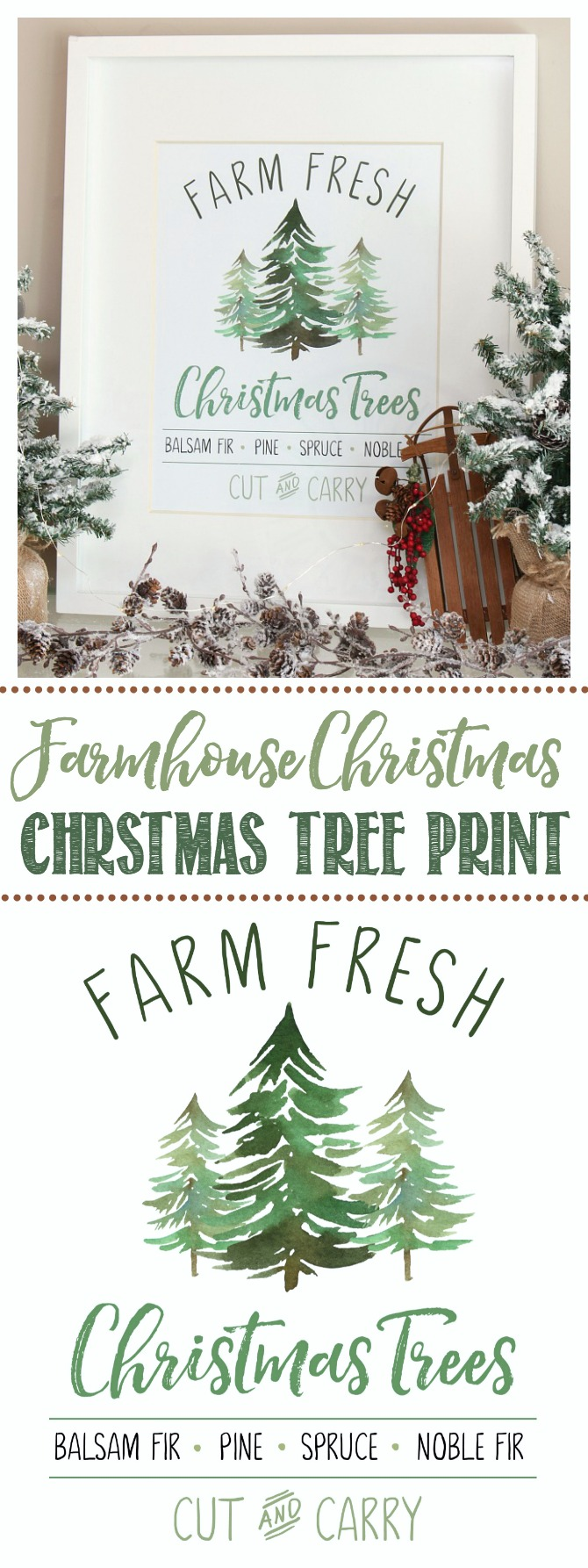 Farm Fresh Christmas Trees Free Christmas Printable Clean And Scentsible