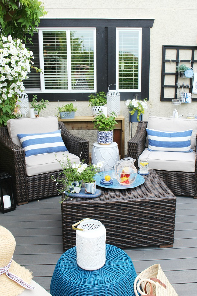 Backyard Patio - Creating a Relaxing Retreat - Clean and ... on Patios Designs  id=98697