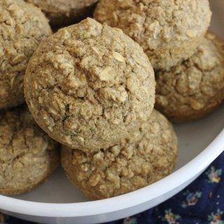 Cinnamon Oat Muffin