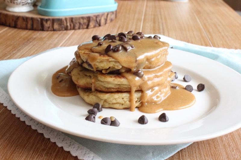 Peanut Butter Cookie Pancakes