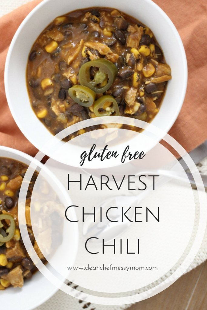 Easy Harvest Chicken Chili
