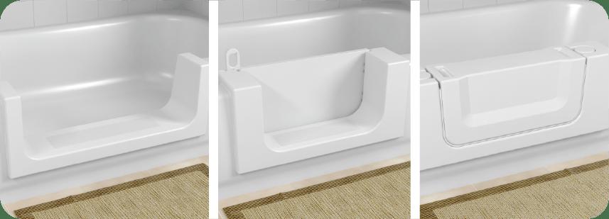 CleanCut Bath Cut Out Amp Conversion Walk In Tubs CleanCut