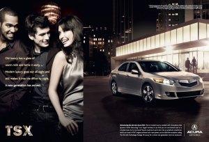 New Luxury Acura Advertisement