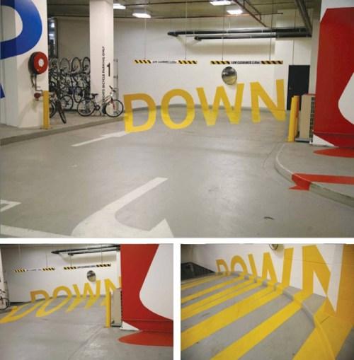 Creative Art Down Typography