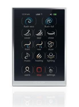 Kohler Numi Toilet Touchscreen