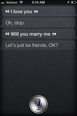 Siri - iPhone 4S - Oh Stop