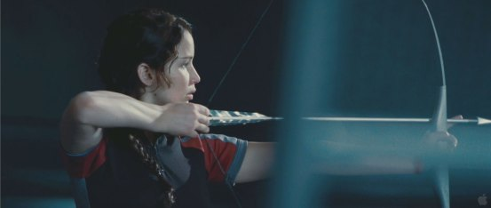 Hunger Games Movie - Katniss Fight
