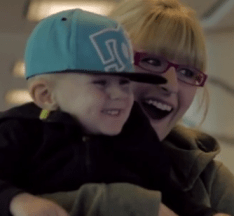 Westjet Christmas Surprise - Child