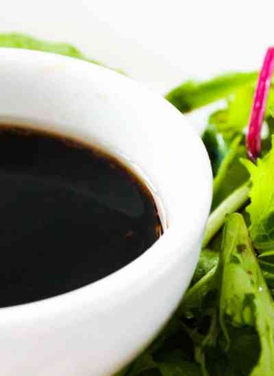Clean Eating Maple and Balsamic Dressing