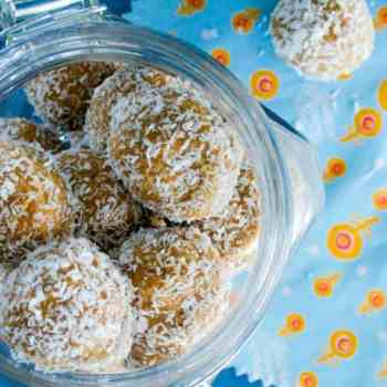 5 Minutes to make AND Portion controlled Healthy Snack Recipe: Clean Eating Nutty Oat Bites