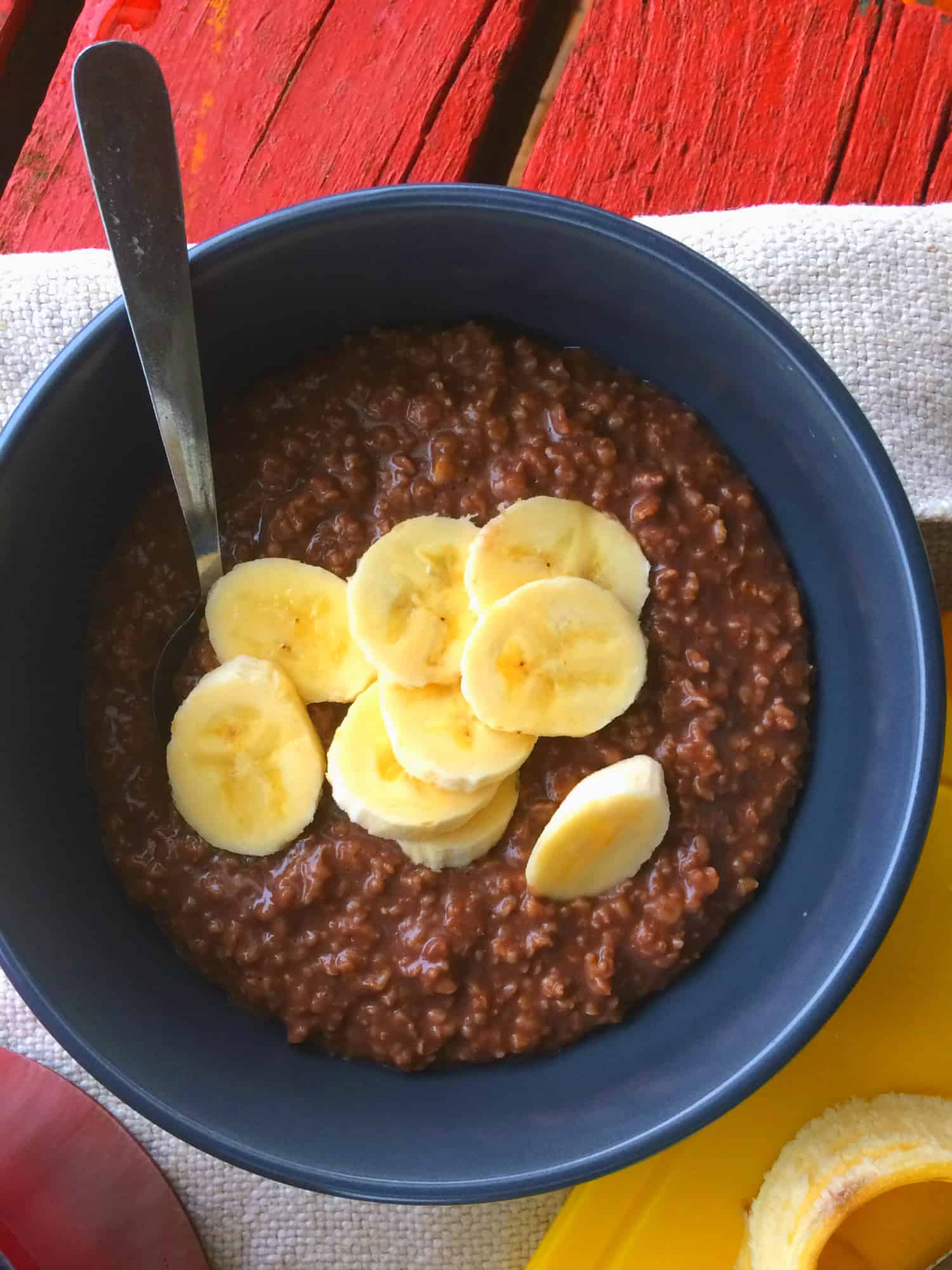clean eating chocolate oats3