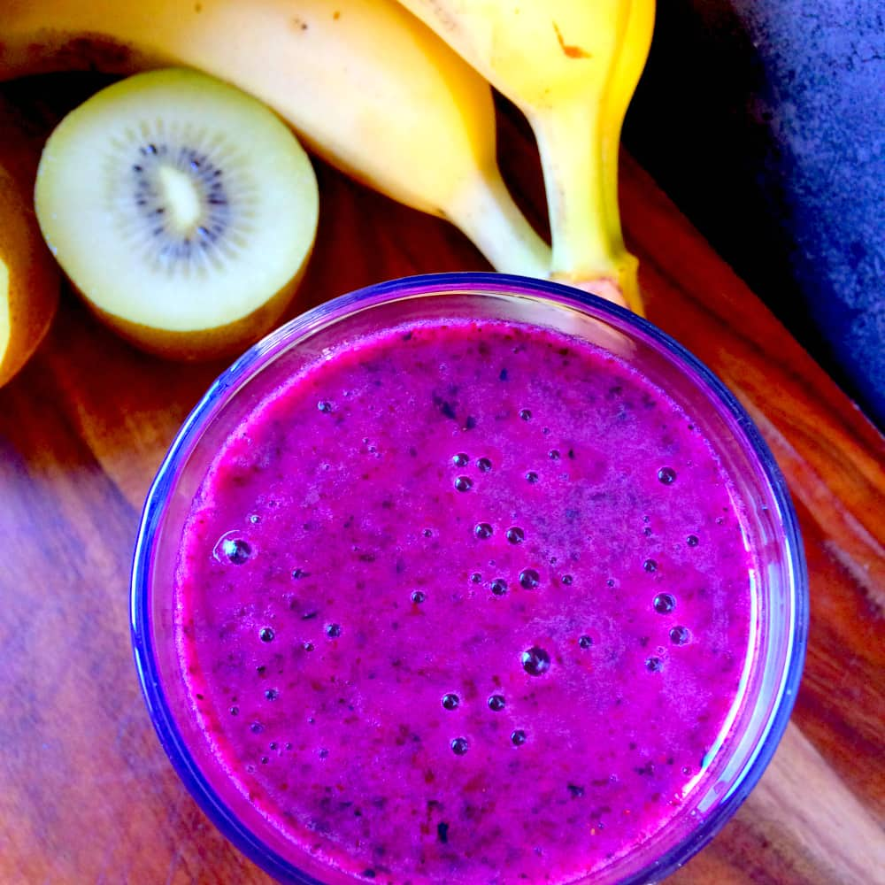 The Immunity Smoothie - Vitamin packed and really tasty way to boost the family's immunity.