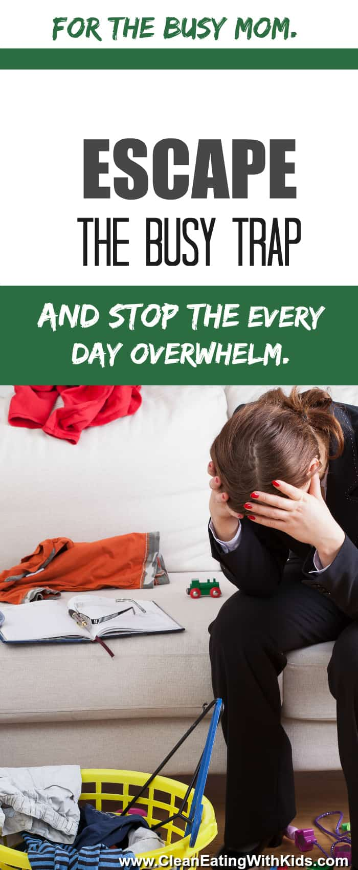How to Stop being busy for the sake of being busy and actually get on top of the important things.