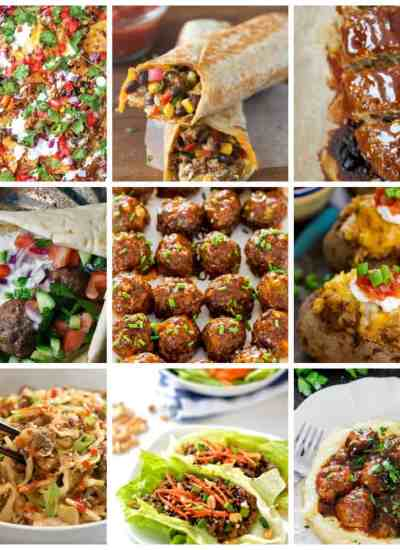 clean eating ground beef recipes