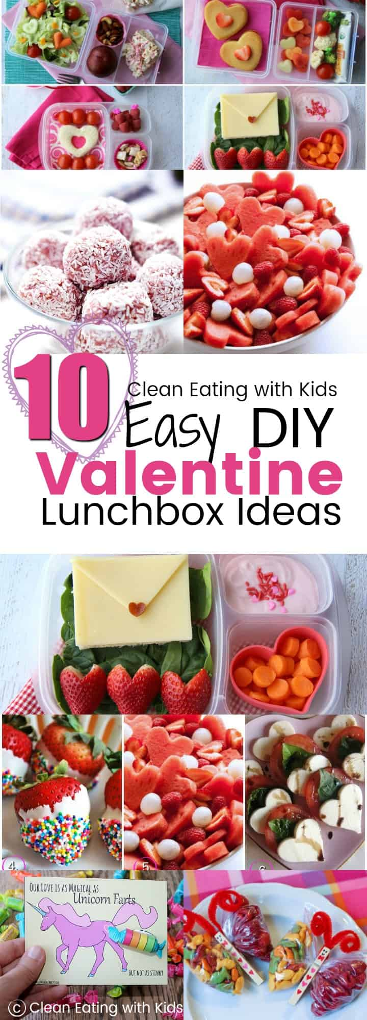 Thinking about trying some of these easy ideas for making Valentine's Day themed packed lunch box for the kids (and maybe husband?) #cleaneating #healthysnacks #Valentinesday
