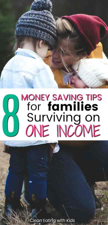 Here are my 8 Best Tips for Families surviving off a single Income.