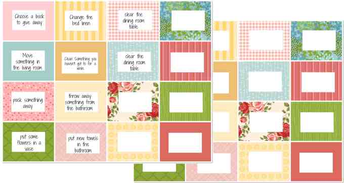 27 things to move printable cards