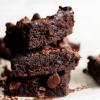 clean eating chocolate brownie
