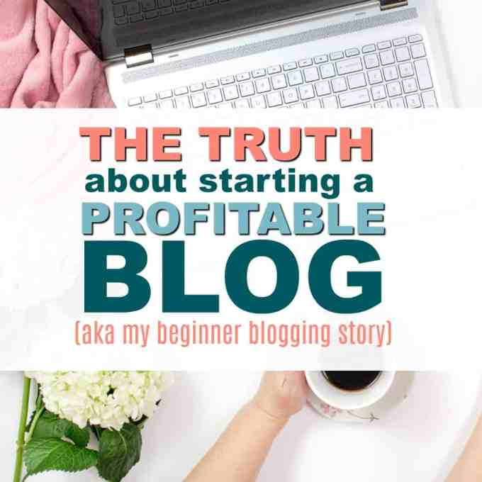 Want to know if the whole BLogging thing is Real? Can you actually make money from Blogging? Here's my blogging backstory and how I started making $1000 a month from my blog.