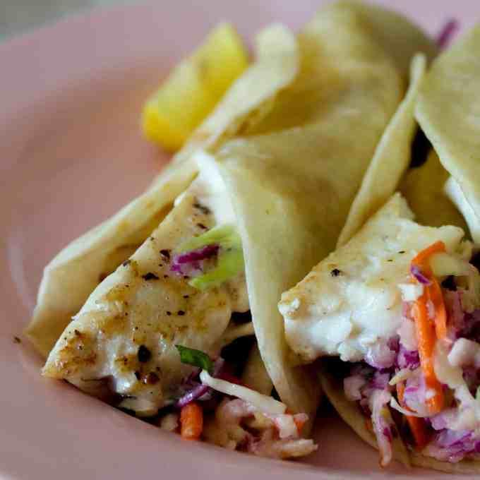 clean eating fish taco recipe