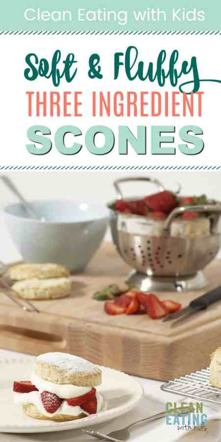 healthy three ingredient breakfast scones