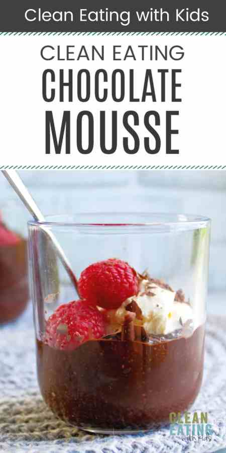 clean eating chocolate chia mousse