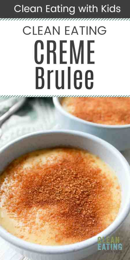 Clean Eating Creme Brulee