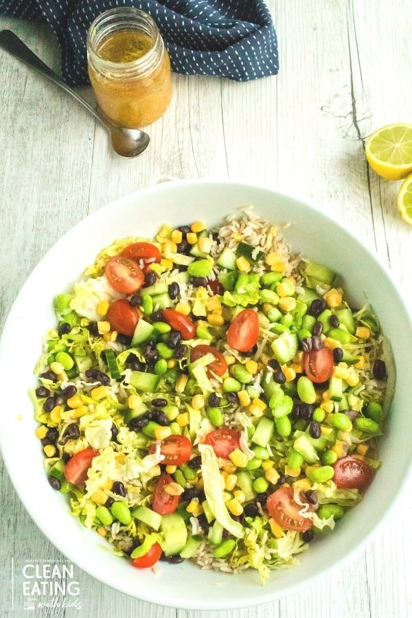 Clean Eating Chopped Mexican Salad