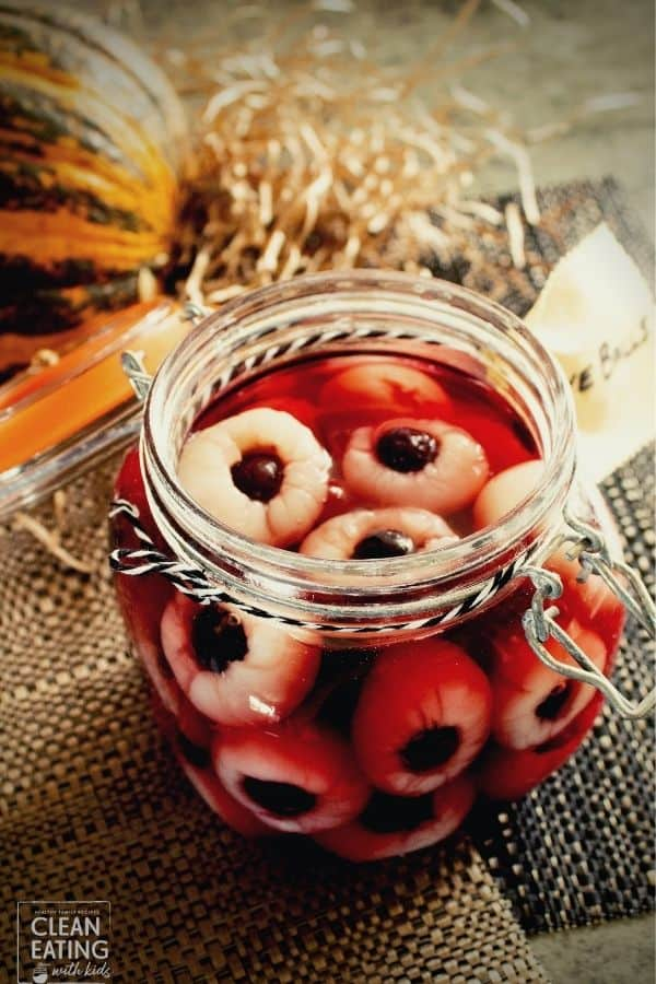 Healthy Halloween Snacks - eyeballs-5