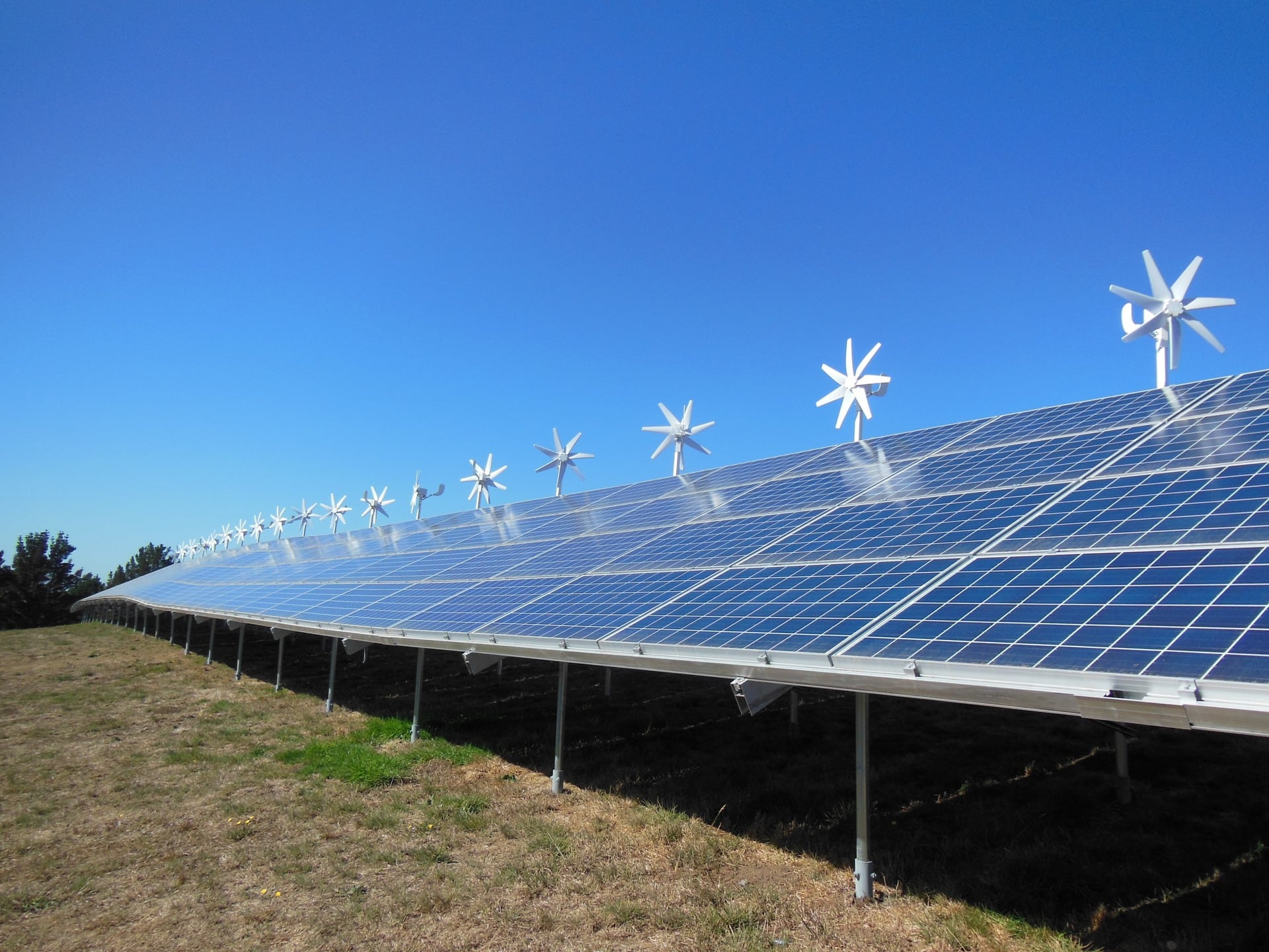 ... Solar+wind+storage Microgrid. Photo Courtesy Of The Bear River Band.