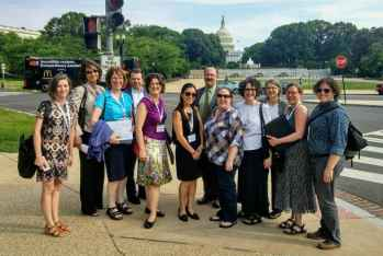 CESA members gathered in DC in June 2017 for an annual membership meeting