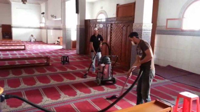 شركة تنظيف مساجد بمكة حيث تشمل خدماتها جميع محتويات المسجد وجميع ملحقاته