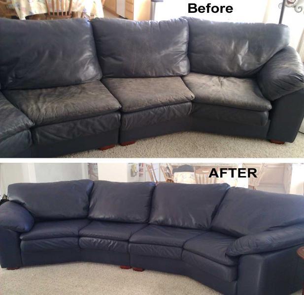 Leather Sofa Paint Repair | Thecreativescientist.com