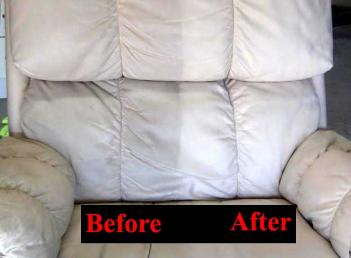 White Leather Chair Cleaning