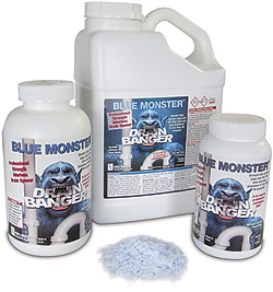 Blue Monster Drain Banger - drain cleaner / clog remover