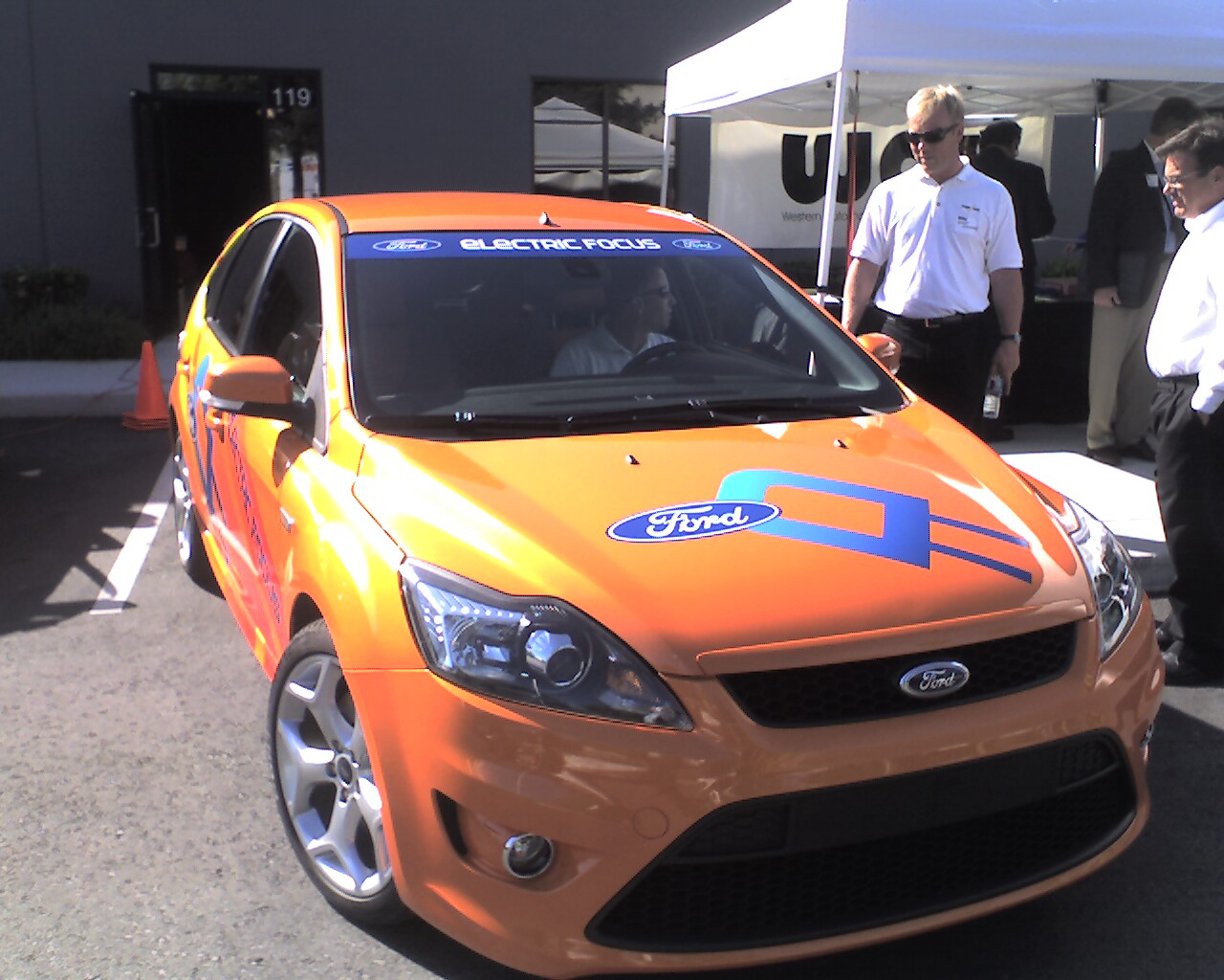 Ford focus electric cars from new green michigan plant