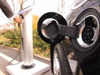 GE Wattstation Charges Chevy Volt