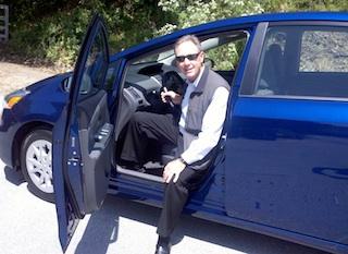 John Addison Drives Prius v