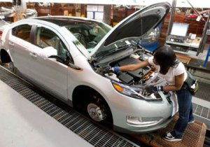 Chevrolet Volt Assembly