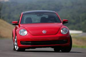 The new Volkswagen Beetle – 40 mpg blast from the past