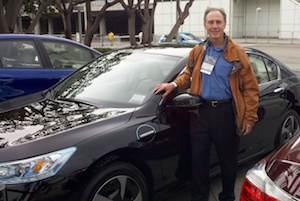 Honda PHEV 2014 test drive