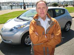 Nissan LEAF Addison Drives